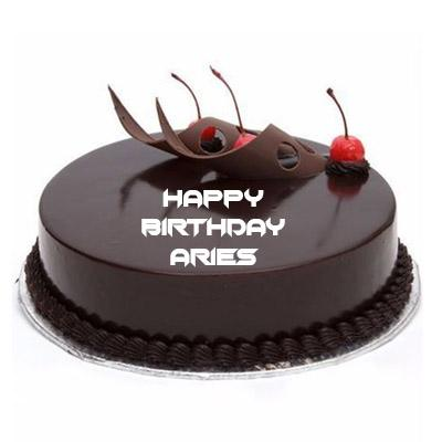 Aries Chocolate Truffle Cake
