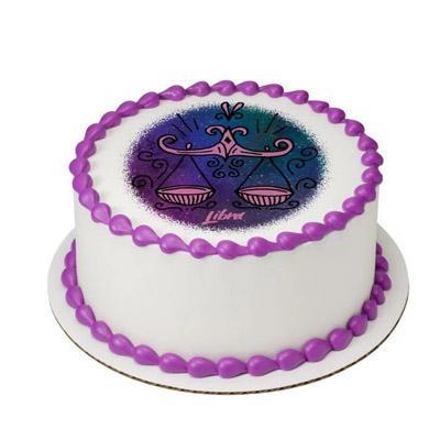 Pineapple Libra Round Cake
