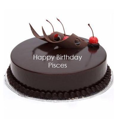 Pisces Chocolate Truffle Cake