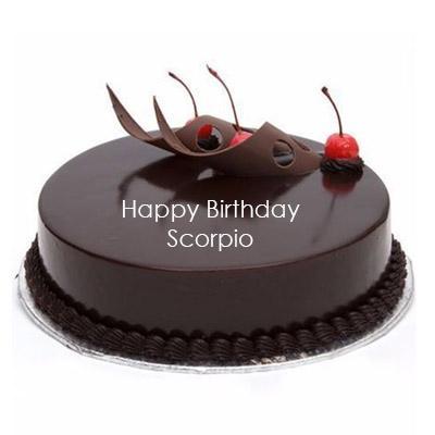 Scorpio Chocolate Truffle Cake