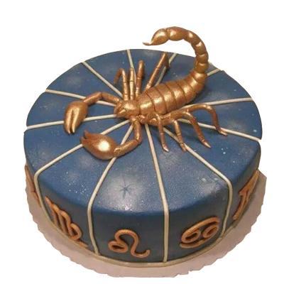 Vanilla Scorpio Cake