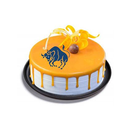 Taurus Butterscotch Cake