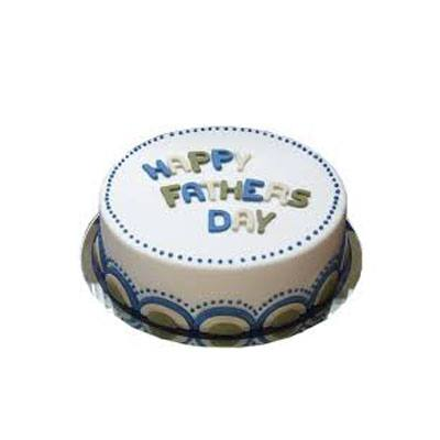 Fathers Day Milky Cake