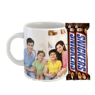 Photo Mug with Snicker