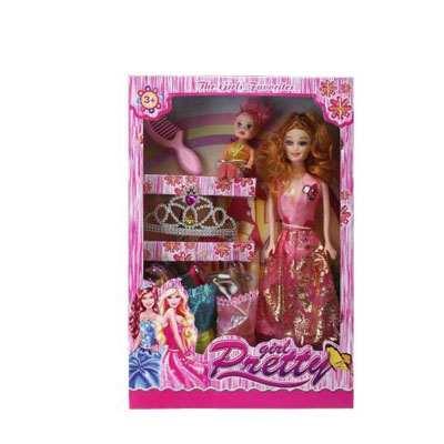 Preety Girl Barbie Doll Set