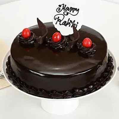 Chocolate Rakhi Cake