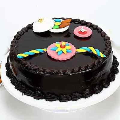 Chocolate Truffle Rakhi Cake